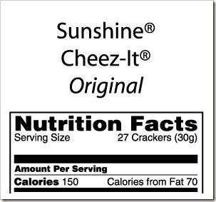 CheezItServingSize